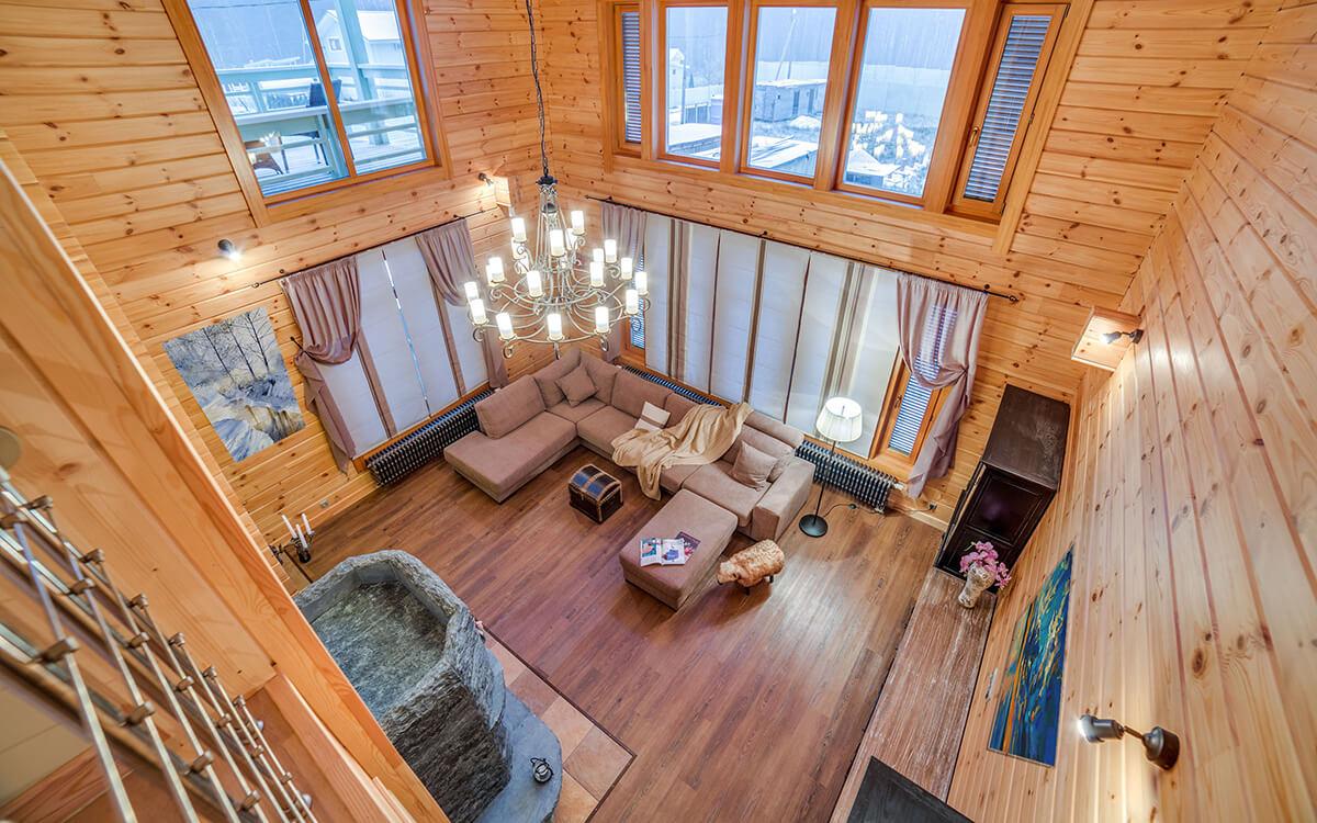 Дома из клееного бруса фото3