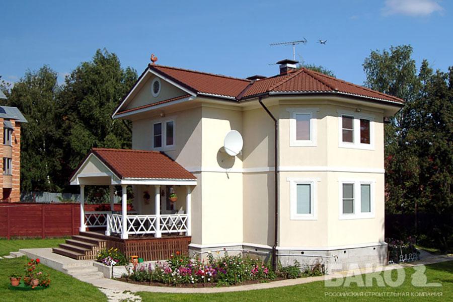 Экономные варианты строительства домов фото3