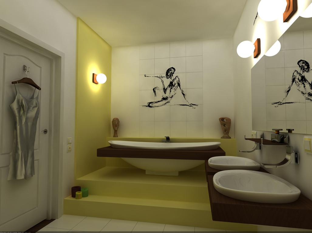 Ремонт в ванной фото3