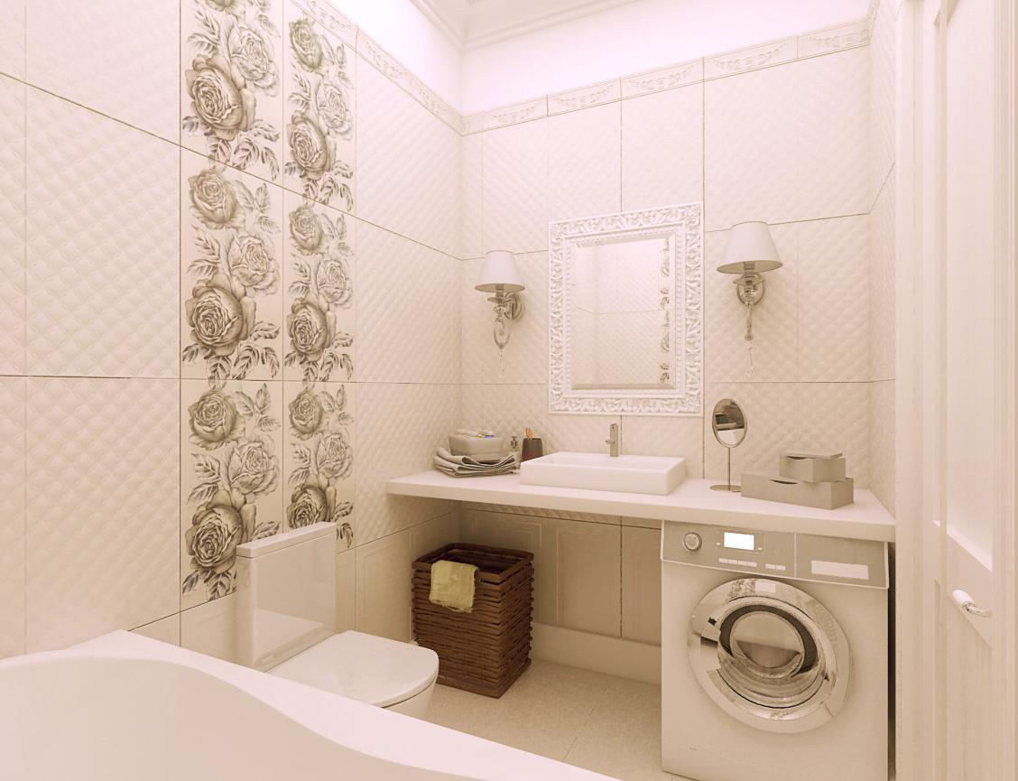 Ремонт в ванной фото5