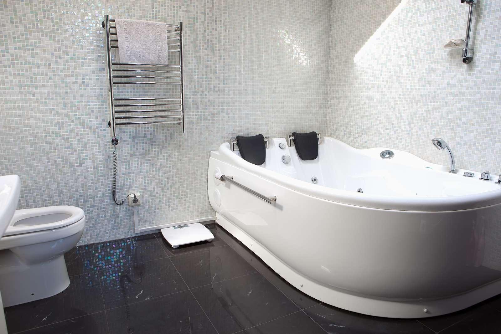 Ремонт в ванной фото6