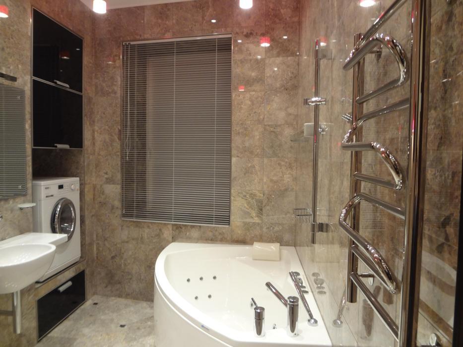 Ремонт в ванной фото7