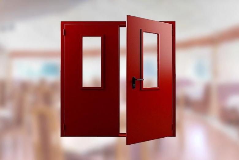 Технические двери фото2