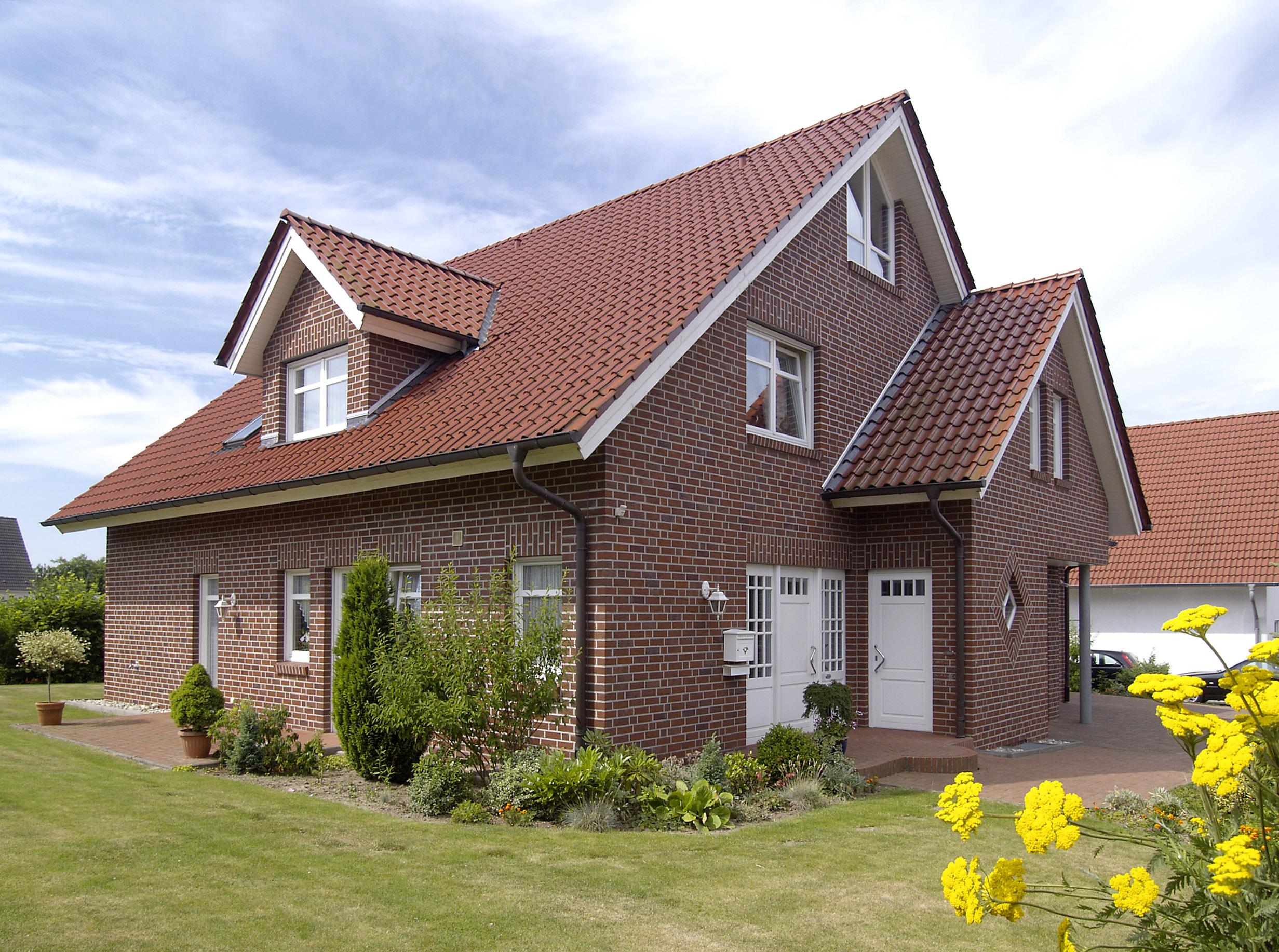 Дом из клинкерного кирпича фото2