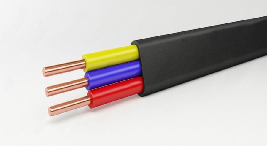 Электрический силовой кабель фото