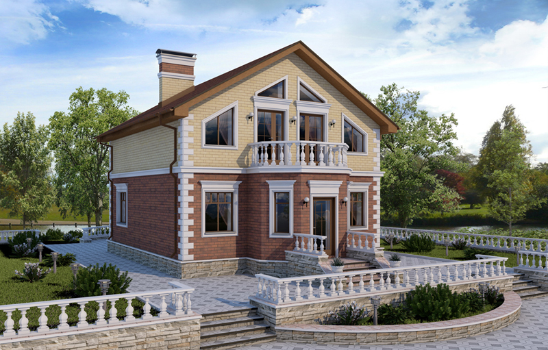 Готовые проекты домов и коттеджей фото2