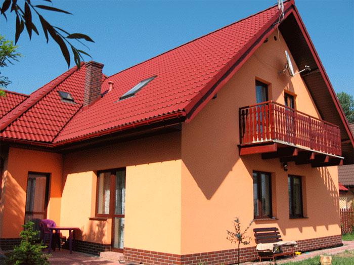 Краски для фасада дома фото