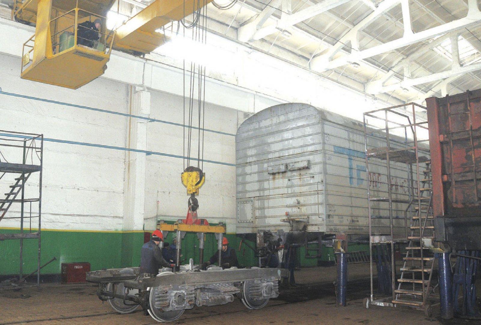Деповской ремонт грузовых вагонов фото2