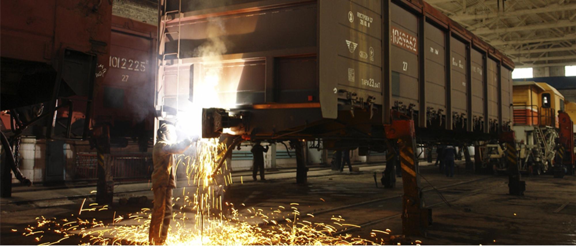 Деповской ремонт грузовых вагонов фото3