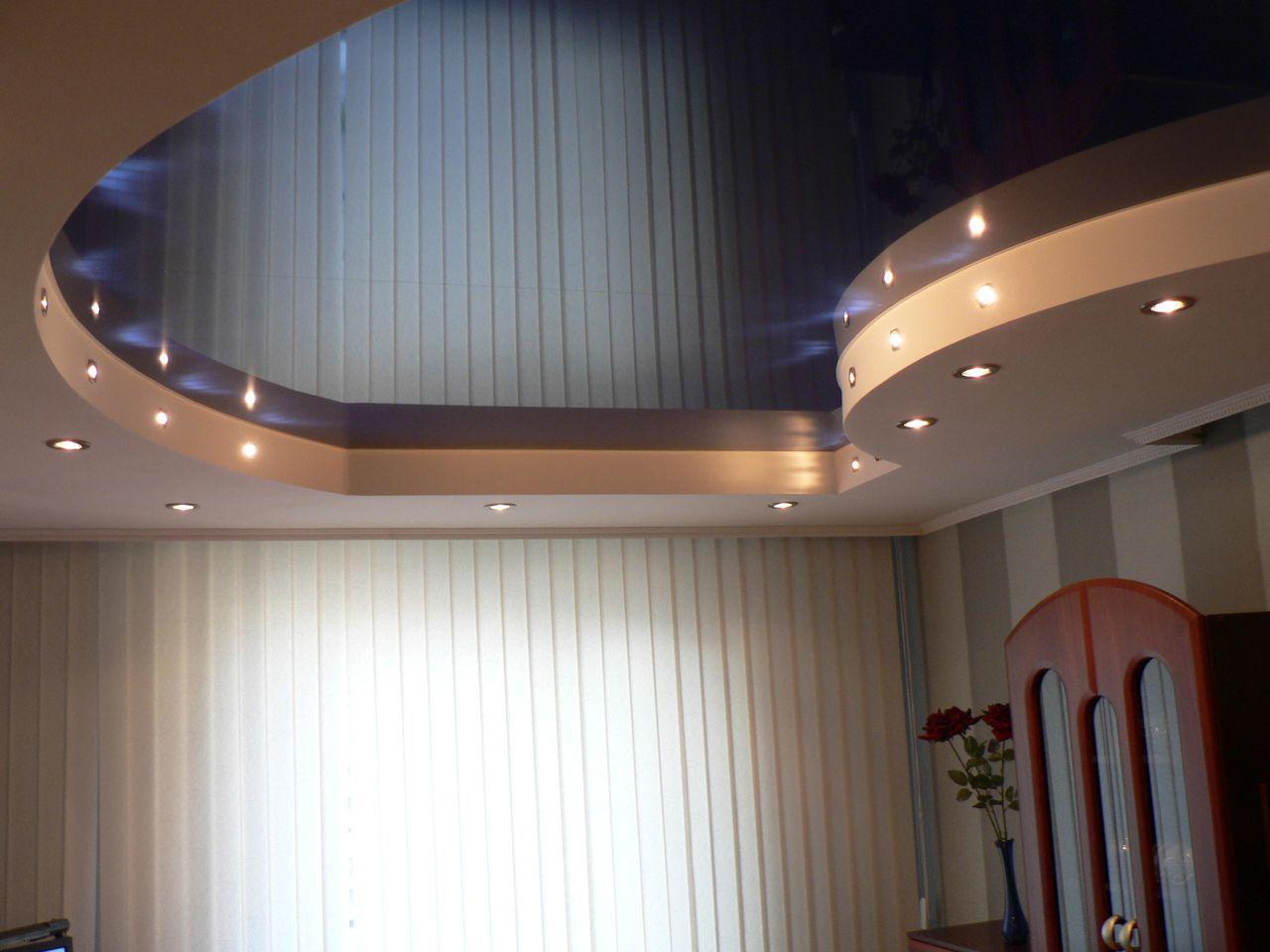 Натяжные потолки фото2