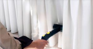 Особенности профессиональной химчистки штор